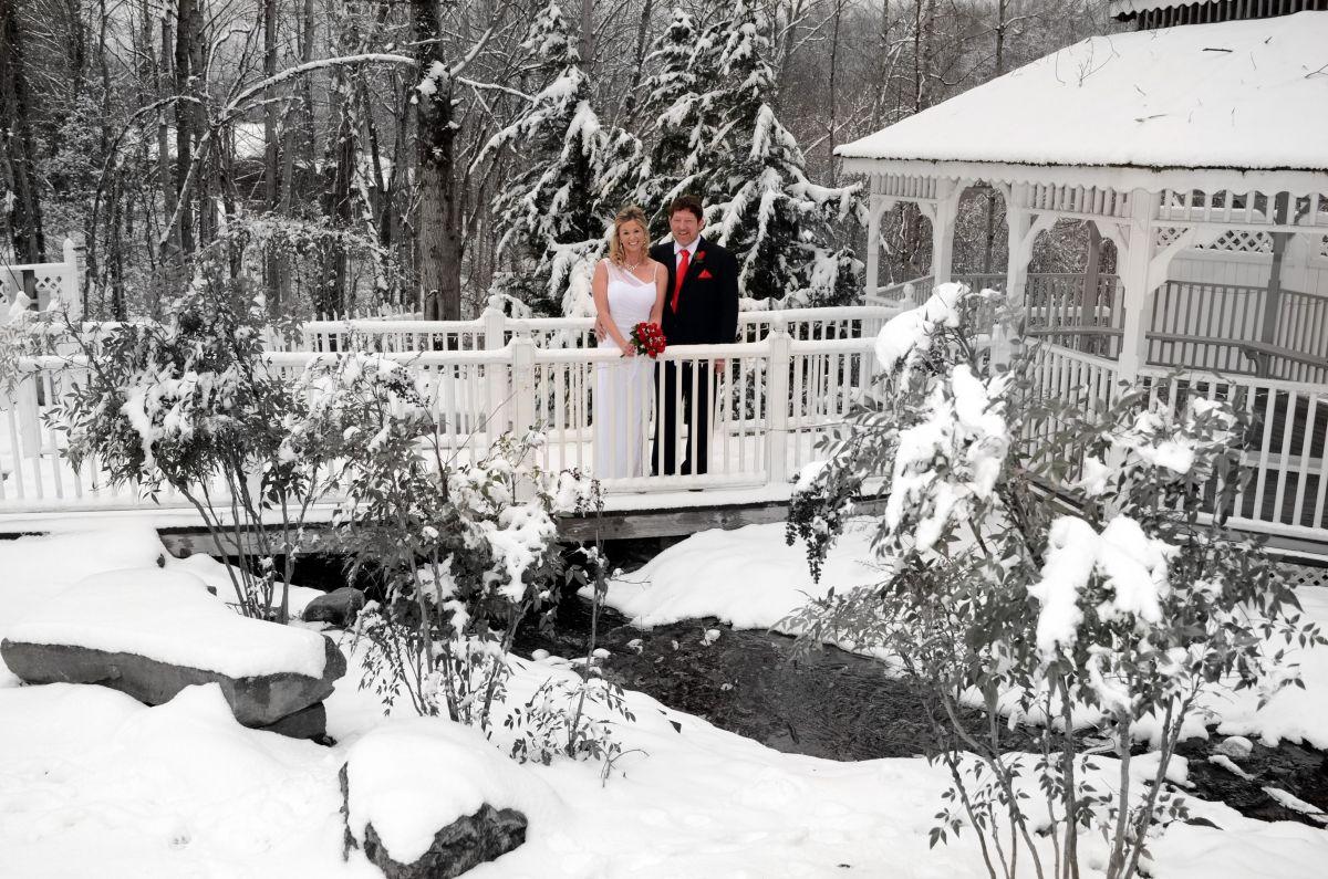 Have Your Gatlinburg Wedding In Our Winter Wonderland